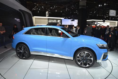 Audi Q8 Concept tuyệt đẹp trình làng - ảnh 3