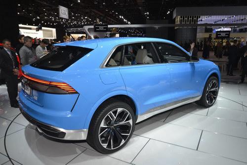 Audi Q8 Concept tuyệt đẹp trình làng - ảnh 4