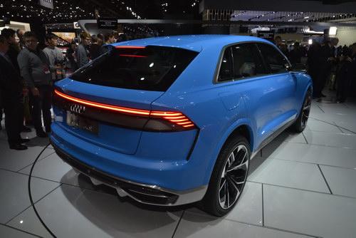 Audi Q8 Concept tuyệt đẹp trình làng - ảnh 5