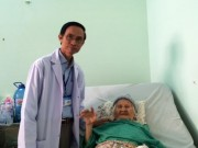 Sức khỏe đời sống - Thay khớp háng cứu sống cụ bà 102 tuổi