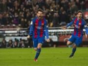 Bóng đá - Messi 3 trận 3 siêu phẩm đá phạt: Đấng cứu thế của Barca