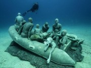 Du lịch - Lặn một hơi xuống bảo tàng dưới nước đầu tiên của châu Âu