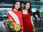 """Thời trang - 200kg là số hành lý Lệ Hằng """"vác"""" tới  Miss Universe 2016"""