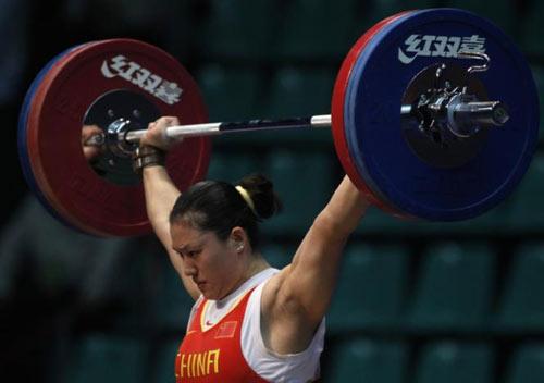 Cử tạ Trung Quốc ê chề bị tước 3 HCV Olympic - 1