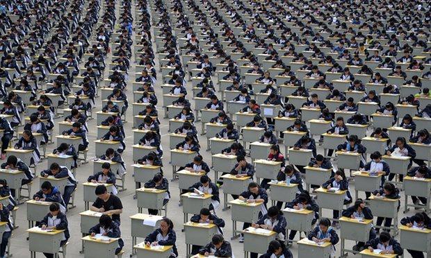 Trường học TQ ra mắt ngân hàng điểm cho học sinh vay - ảnh 2