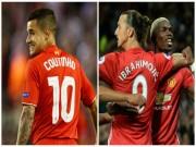 """Đại chiến MU - Liverpool: Cánh én Coutinho giữa  """" bầy quỷ """""""