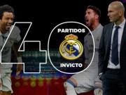 Bóng đá - Real Madrid: Kỷ lục 40 trận và những con số ấn tượng