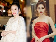 """Thời trang - """"Nữ hoàng thảm đỏ"""" Angela Phương Trinh bị lu mờ trước HH Thu Thảo"""