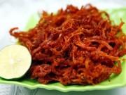 Ẩm thực - Cách làm 3 món thịt khô xé sợi ăn chơi ngày Tết