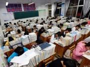 """Giáo dục - du học - Trường học TQ ra mắt """"ngân hàng điểm"""" cho học sinh vay"""
