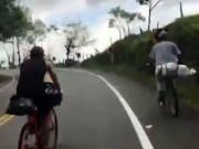 """Thể thao - Xe đạp leo dốc: Lão nông cho cua-rơ """"hít khói"""""""