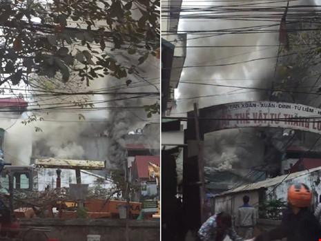 Cận tết, bà hỏa thiêu rụi một căn nhà tại Hà Nội - ảnh 1