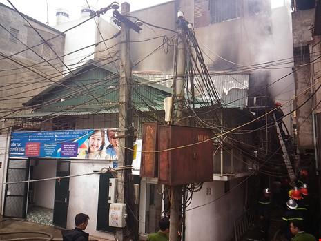 Cận tết, bà hỏa thiêu rụi một căn nhà tại Hà Nội - ảnh 4