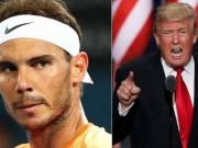 Thể thao - Tin thể thao HOT 14/1: Nadal không thích tổng thổng Mỹ