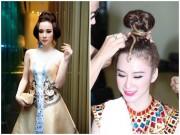 """Làm đẹp - Những kiểu tóc """"có một không hai"""" của Angela Phương Trinh"""