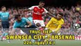 Chi tiết Swansea – Arsenal: Tối tăm mặt mũi (KT)