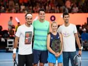 Thể thao - Australian Open: Sôi sục trước giờ G cùng Federer, Nadal
