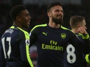 Bóng đá - Arsenal: Thần tài Giroud và thần đồng Iwobi