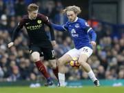 Bóng đá - Everton - Man City: Choáng váng những cú đấm uy lực