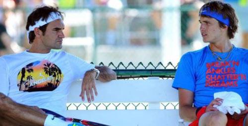 Tin thể thao 16/1: Đàn em khen nức nở Federer