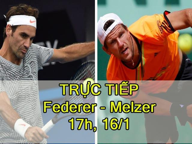 Chi tiết Federer – Melzer: Giải quyết nhanh set 4 (KT)