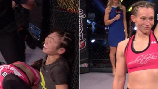 Hy hữu MMA: Bị siết cổ đến ngất, tỉnh lại vẫn thắng