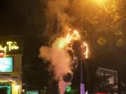 Tin tức trong ngày - Cháy đèn trang trí Tết ở trung tâm Sài Gòn