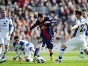 Bóng đá - Messi: Không gian siêu hẹp, solo càng đẹp