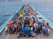 Tư vấn - Màn tụ hội ấn tượng của 50 chiếc McLaren tại Hồng Kông