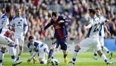 Messi: Không gian siêu hẹp, solo càng đẹp