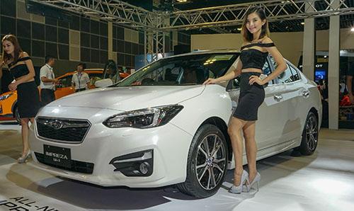 Subaru Impreza thế hệ mới giá từ 1,7 tỷ đồng