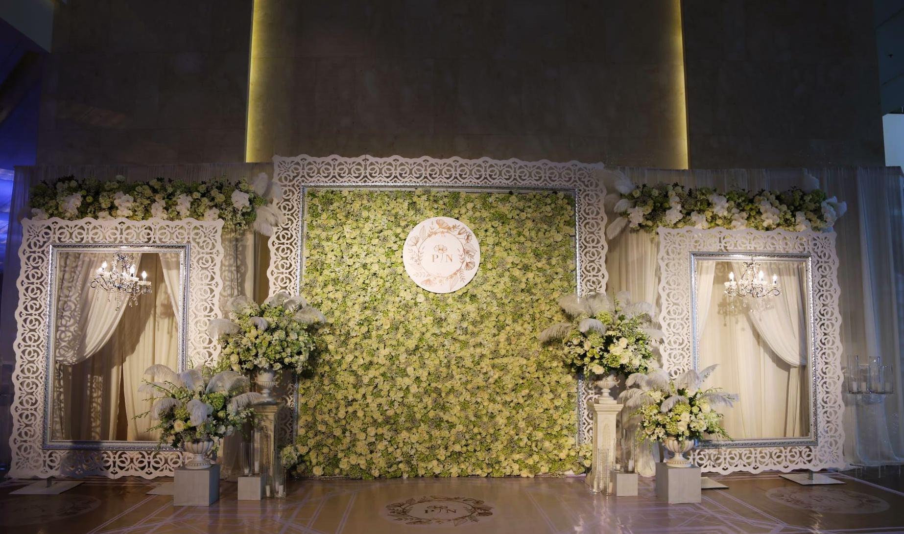 Cận cảnh lễ cưới xa hoa của HH Thu Ngân và đại gia hơn 19 tuổi - 3