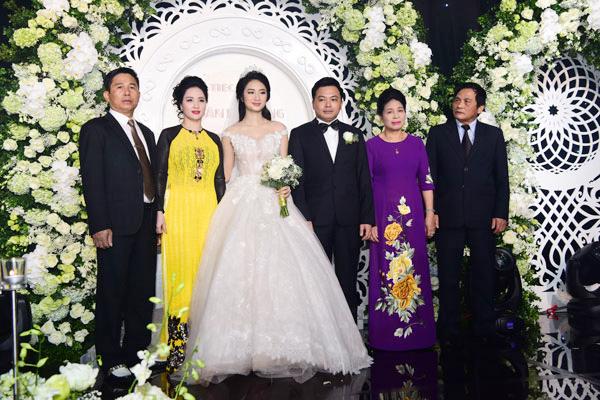 Cận cảnh lễ cưới xa hoa của HH Thu Ngân và đại gia hơn 19 tuổi - 11