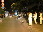 Tin tức trong ngày - Truy đuổi xe container bỏ chạy sau tai nạn chết người
