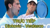 Chi tiết Djokovic – Verdasco: Vất vả thắng set 2 (KT)