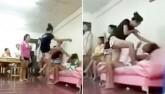 Đả nữ Muay Thái đánh ghen, tình địch chỉ biết van xin