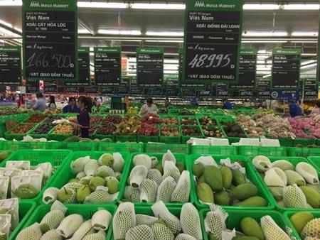 Giá thịt giảm, trái cây tăng - 1