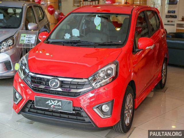 Phát thèm 2017 Perodua Axia giá 126 triệu đồngjavascript:;