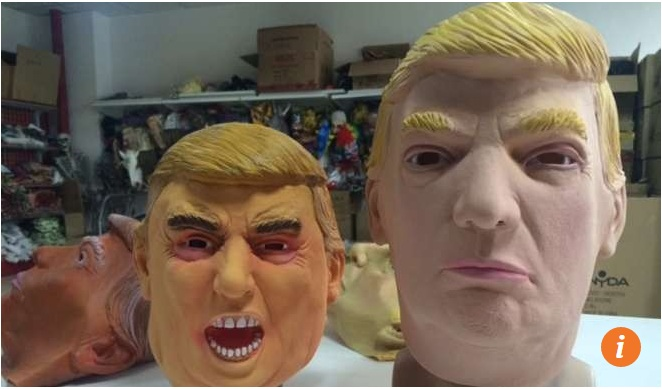 Công ty Trung Quốc kiếm bộn tiền nhờ bán mặt nạ Trump - 4