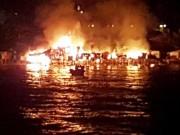 Hiện trường vụ cháy làm 400 người trắng tay ở Nha Trang