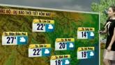 Dự báo thời tiết VTV 18/1: Bắc Bộ tạnh ráo, Nam Bộ nắng đẹp