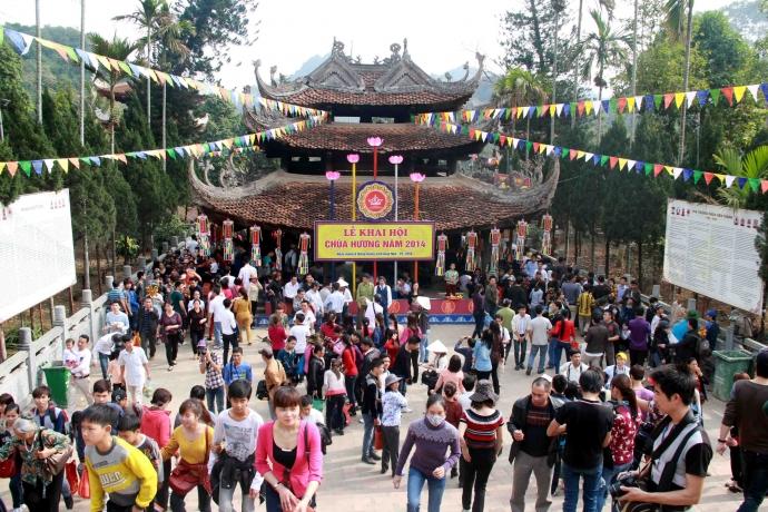 Những điểm du lịch, lễ hội Tết không thể bỏ qua ở miền Bắc-8