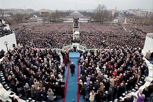 Donald Trump nhậm chức: Những hình ảnh ấn tượng nhất - 5