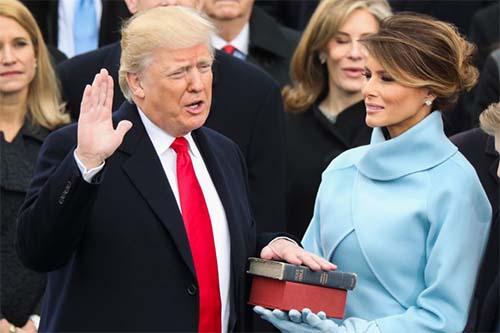 Donald Trump nhậm chức: Những hình ảnh ấn tượng nhất - 2