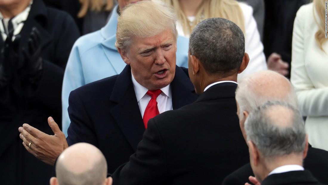 Donald Trump nhậm chức: Những hình ảnh ấn tượng nhất - 6