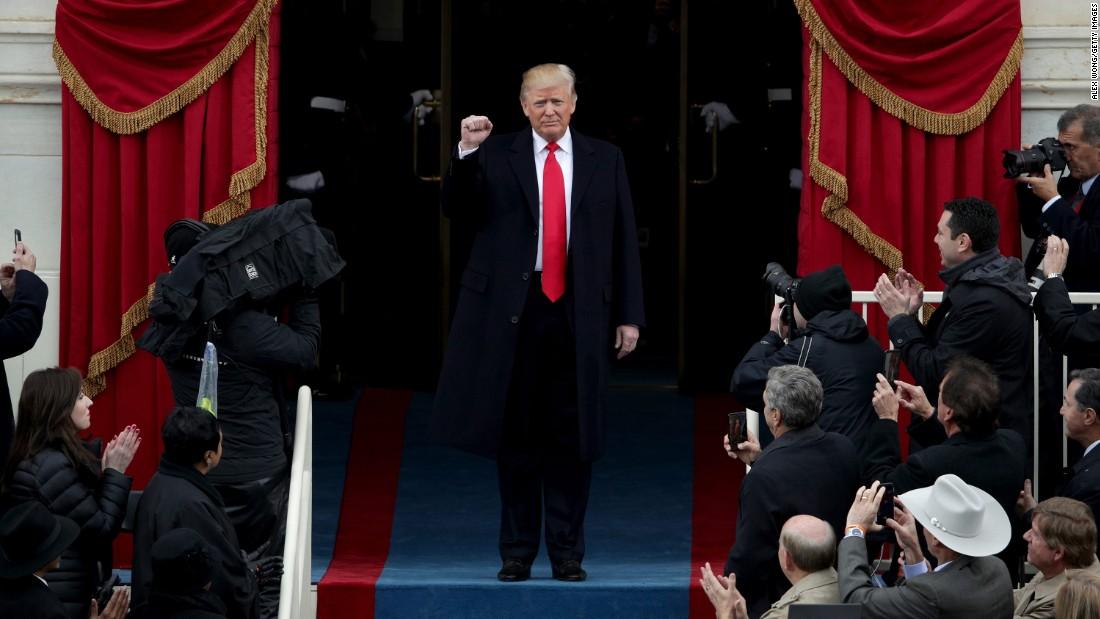 Donald Trump nhậm chức: Những hình ảnh ấn tượng nhất - 7