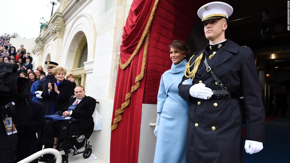 Donald Trump nhậm chức: Những hình ảnh ấn tượng nhất - 10