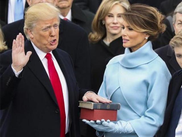 Vẻ quyến rũ tuyệt đối của vợ tổng thống Donald Trump