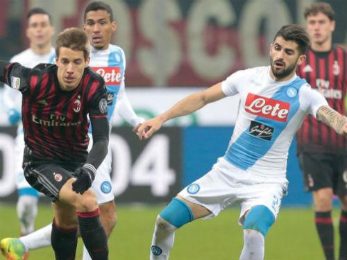 Milan - Napoli: 3 phút giành 3 điểm - 1