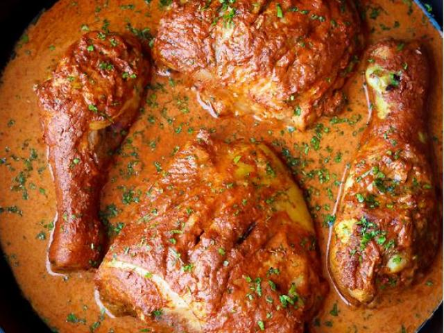 Cách làm gà nướng Tandoori ngon chuẩn vị Ấn Độ